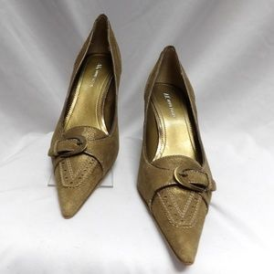 Anne Klein Pumps Shoes New Leather